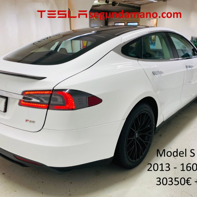 Tesla Model S P85 segundamando